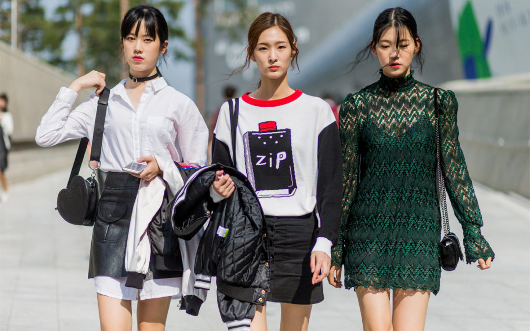 Hotest Fashion Trend in the Street of Korea